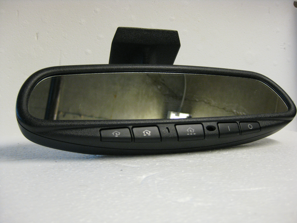 Mercedes auto dimming mirrors with homelink compass for Mercedes benz homelink